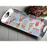 Creative Tops Retro Treats 50's Vintage Style Small Luxury Handled Tray Multi-Colour