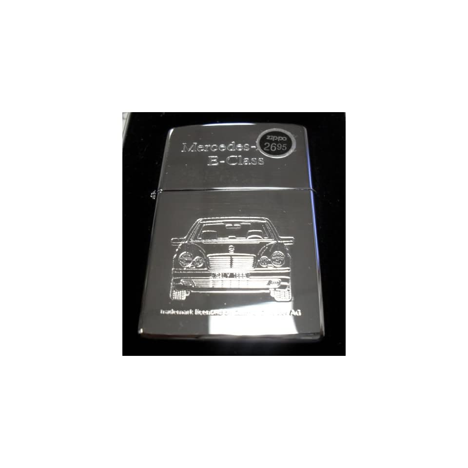 Mercedes benz e class zippo lighter w case on popscreen for Mercedes benz lighter