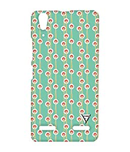 Vogueshell Fungaii Pattern Printed Symmetry PRO Series Hard Back Case for Lenovo A6000