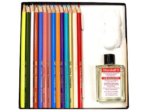 Marshall's Photo Pencil Sets tropical colors set of 14