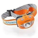 PathBriteヘッドランプトーチ─アウトドア/インドアアクティビティに最適 ハンドモーションIRセンサーオン/オフスイッチ、3モード ホワイトCREEライト、LEDレッドライト、フラッシュレッド、緊急ライト─圧倒的な明度 あらゆるサイズに対応 贈り物にぴったり オレンジ