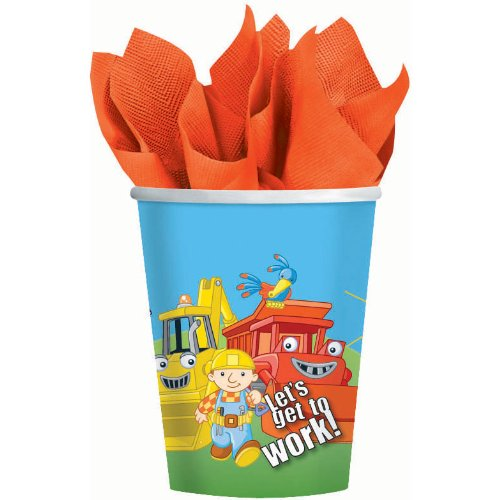 Bob the Builder 8 oz. Paper Cups Party Accessory (8 Pack) - 1