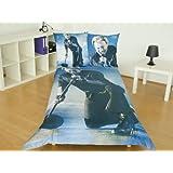 Johnny Hallyday Johnny DBO Parure Linge de Lit 200 cm x 140 cm
