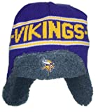 Minnesota Vikings NFL Licensed Ear Muff Trooper Beanie Hat at Amazon.com