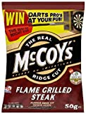 Mccoys Ridge Cut Flame Grilled Steak Flavour Potato Crisps 50 G (pack Of 36)