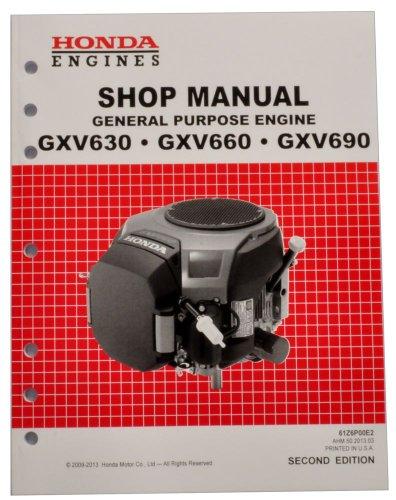 Honda Gxv630 Gxv660 Gxv690 Engine Service Repair Shop Manual