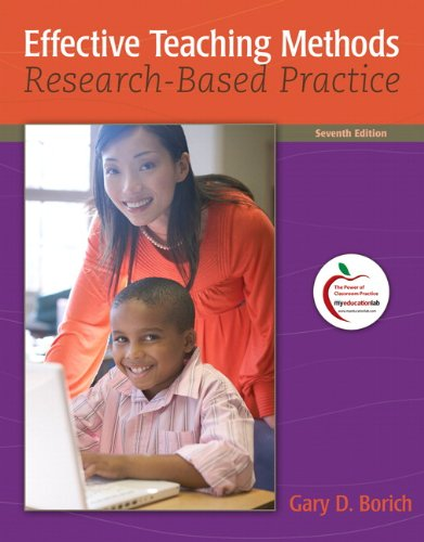 Effective Teaching Methods: Research-Based Practice,...