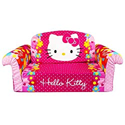 Marshmallow Furniture Flip Open Sofa Hello Kitty
