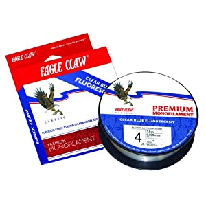 Eagle Claw® Classic Clear Blue Fluorescent Line 110 yards