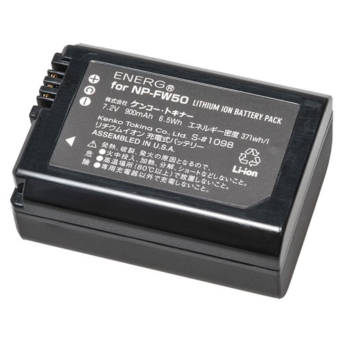 Kenko ENERG デジタルカメラ用バッテリー ソニーNP-FW50対応 S-#1098