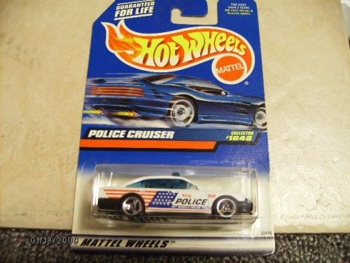 Hot Wheels Police Cruiser #1046 - 1