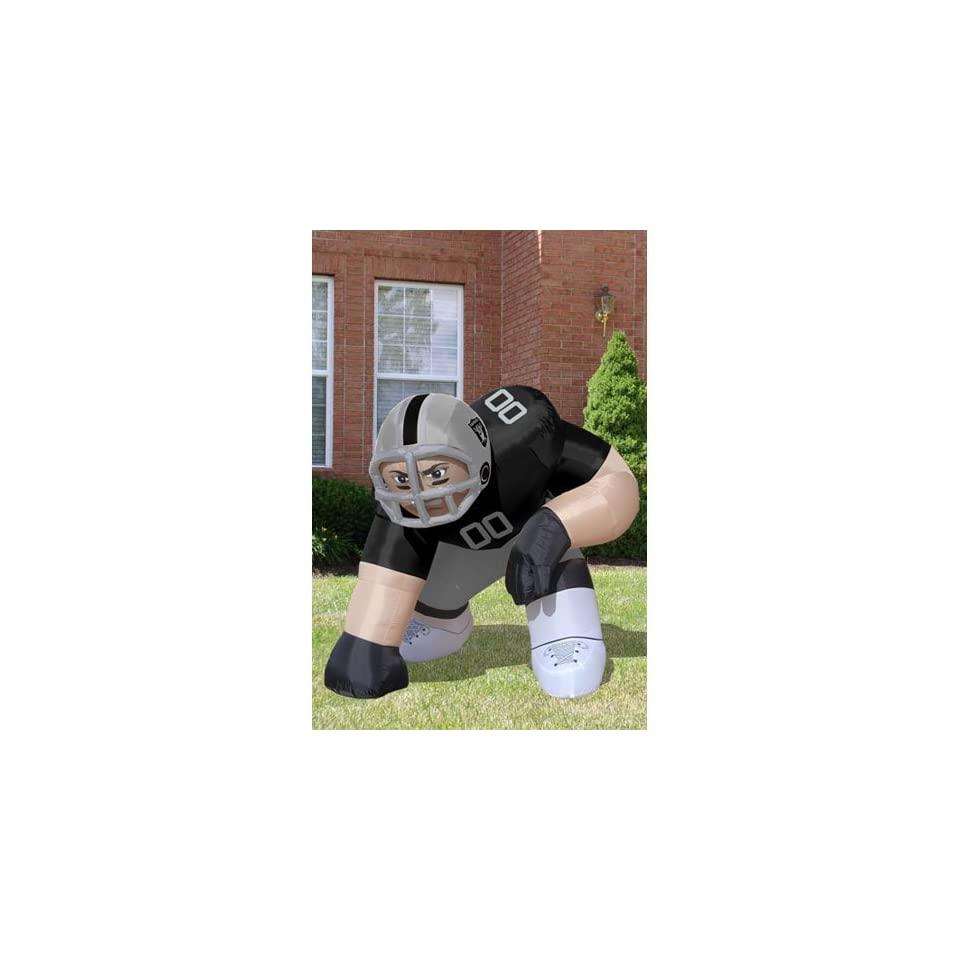 BSS   Oakland Raiders NFL Inflatable Bubba Player Lawn Figure (60 Tall)