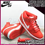 NIKE(ナイキ) ダンク ミッド プロ NIKE DUNK MID PRO SB Light Crimson/White-Light Crimson/メンズ(men's) 靴 スニーカー(314383-616)