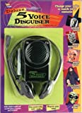Forum Novelties Deluxe 5 Voice Disguiser with Head Set