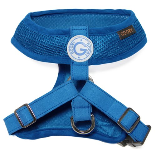 Choke Free Freedom Mesh Harness Specially Made for Small Dogs, Small, Blue (Pomeranian Harness compare prices)
