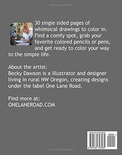 The Simple Living Coloring Book
