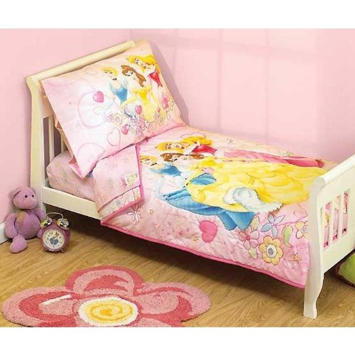 Disney Princess 4-pc. Toddler Bedding Set