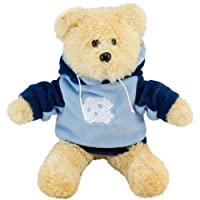 """North Carolina Tar Heels 8"""" Fuzzy Hoody Bear by Forever Collectibles"""