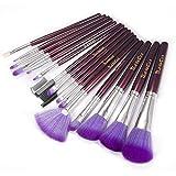 iLoveCos Makeup Brushes Set 16PCS Eyeshadow Lip Brush Set Multifunctional Premium...