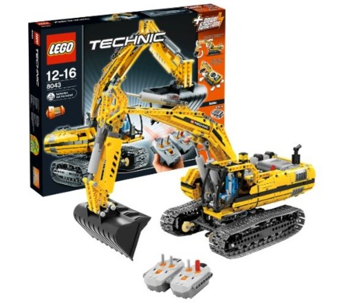 Technic Motorized Excavator 8043 Lego 8043 Motorized
