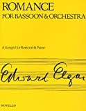 ELGAR ROMANCE FOR BSN & ORCH BASSOON AND PIANO ACC.