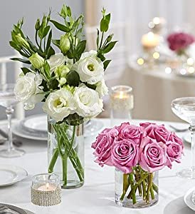 1-800-Flowers - Purple Elegance Centerpiece Package - Two By 1800Flowers