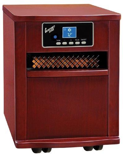 Comfort Zone Cherry Infrared Quartz Heater