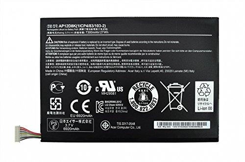 Batterie originale pour Acer Iconia A3-A10 Serie