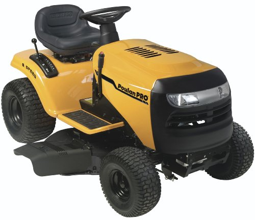 Poulan Pro PB14538LT 14.5 HP 6-Speed Lawn Tractor, 38-Inch from ...