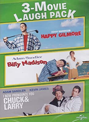 Happy Gilmore / Billy Madison / I Now Pronounce You Chuck & Larry - 3-Movie Laugh Pack