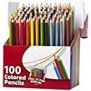 RoseArt Colored Pencils, 100-Count, Assorted Colors, Packaging May Vary (CYN00)