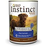 Instinct Grain-Free Pork Canned Dog Food by Nature's Variety 13.2 oz Cans (Case of 12)