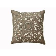 Ultra-Snob Treiste Cushion Cotton Twill Cushion Natural