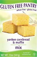 The Gluten-Free Pantry Yankee Cornbread Mix, 12-Ounce Boxes (Pack of 6) from The Gluten-Free Pantry