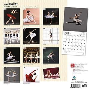 Ballet - Ballett 2017 - 18-Monatskalender: Original BrownTrout-Kalender [Mehrsprachig] [Kalender] (Wall-Kalender)