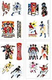 Power Ranger Megaforce Tattoos