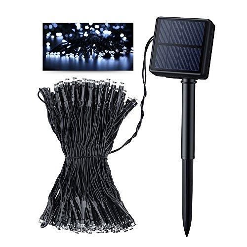 Outside String Lights Not Working : Litom Solar Outdoor 200 LED String Lights 72.18 ft Solar Powered Waterproof Decorative Light ...