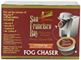 San Francisco Bay Coffee OneCup for Keurig K-Cup Brewers, Fog Chaser, 12-Count (Pack of 3)