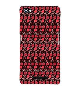 EPICCASE Apple Bites Mobile Back Case Cover For Micromax Canvas Hue 2 A316 (Designer Case)