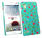 Emartbuy® LG Optimus L9 P760 Rose Garden Clip On Protection Case/Cover/Skin