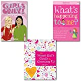 Victoria Parker What's Happening to Me? Girl's Guide to Growing Up Collection 3 Books Set, (What's Happening to Me? (Girls Edition) (Facts of Life), The Smart Girl's Guide to Growing Up and Girls Only! All About Periods and Growing-Up Stuff)
