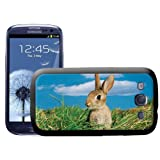 Cute Rabbit Bunny Hard Case Clip On Back Cover For Samsung Galaxy S3 i9300