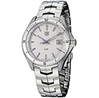 TAG Heuer Men's WAT1111.BA0950 Link Silver Dial Watch by TAG Heuer