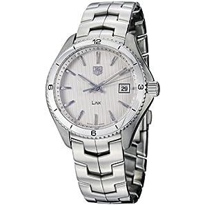 TAG Heuer Men's WAT1111.BA0950 Link Silver Dial Watch by TAG Heuer