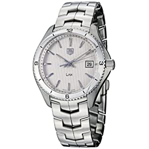 TAG Heuer Men's WAT1111.BA0950 Link Silver Dial Watch