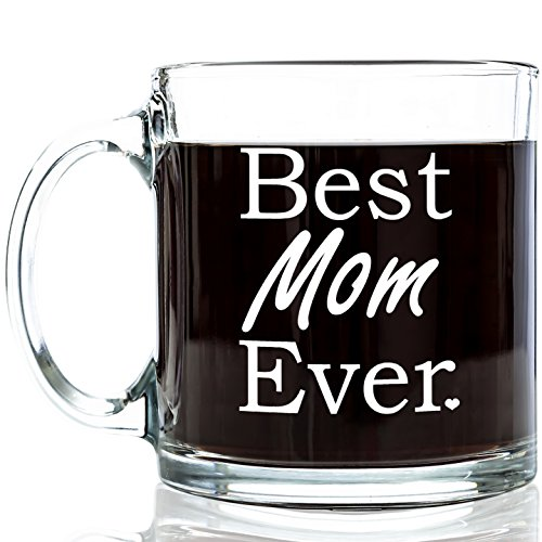 Best mom ever glass coffee mug great valentine 39 s day for Cool glass coffee mugs
