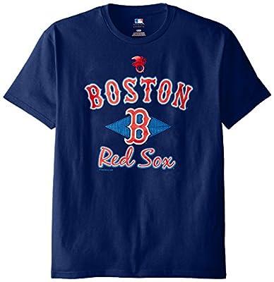 MLB Boston Red Sox Men's 58T Tee, Navy, X-Large