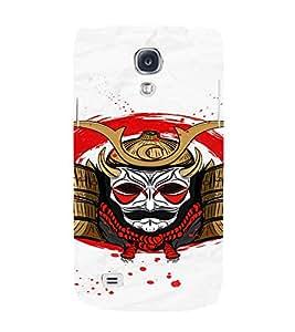PrintVisa Modern Art Skull 3D Hard Polycarbonate Designer Back Case Cover for Samsung Galaxy S4