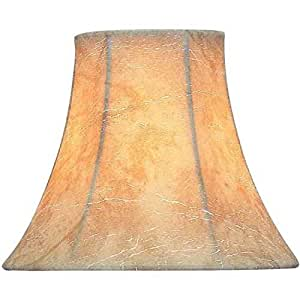 inch lamp shade natural faux leather lamp shades. Black Bedroom Furniture Sets. Home Design Ideas