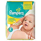 Pampers New Baby (Mini) Nappies Monthly Pack - Size 2 (240 Nappies)